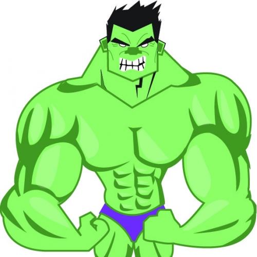 Hulk mascot